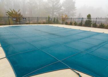 une bache hivernage piscine